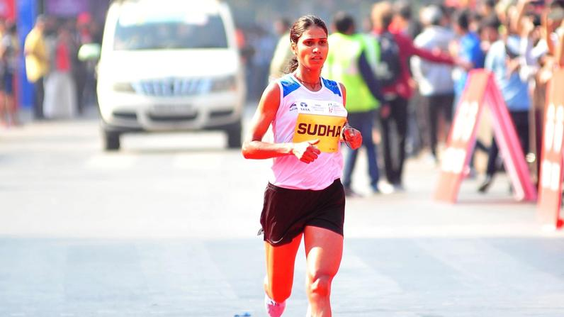 Defending Champion and Olympian Sudha Singh clinches the title for the third time in a row.