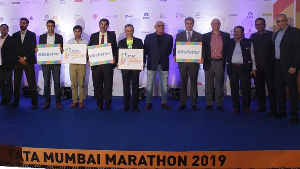 Tata Mumbai Marathon 2019 - Countdown Press Conference