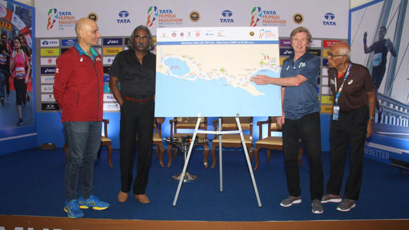 Mumbai all set for 17th edition of the Tata Mumbai Marathon